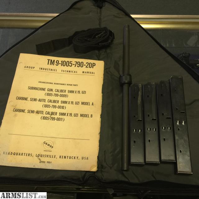 ARMSLIST - For Sale: Pre-86 Dealer Sample IMI UZI