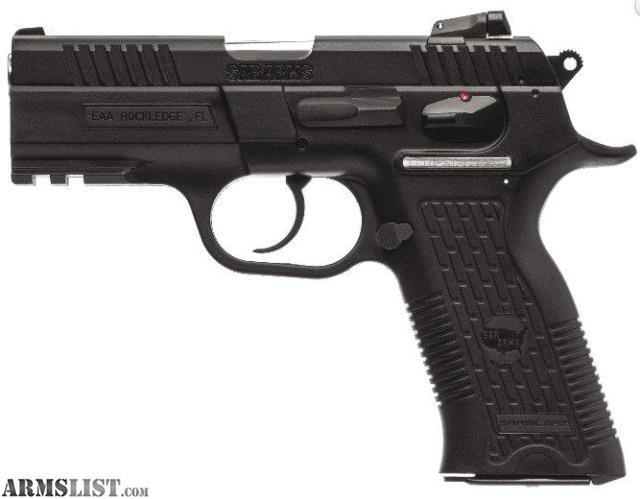 For Sale: EAA SAR ARMS K2P 9mm 16+1 Rail DA/SA NEW