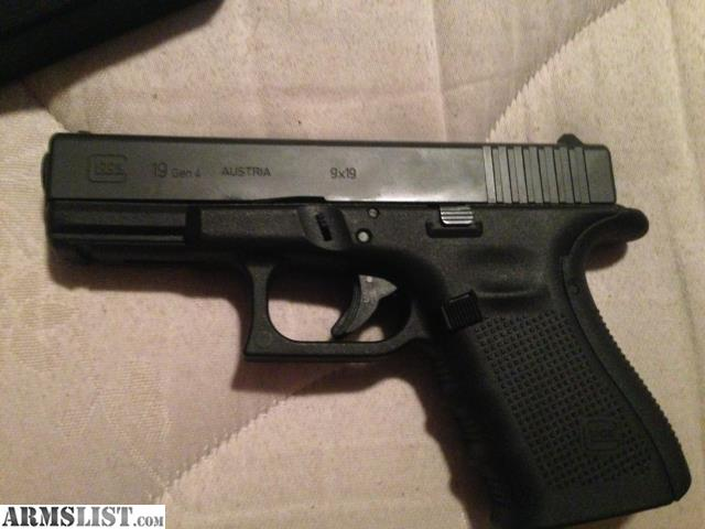 armslist for trade glock 19 gen 4 w holsters