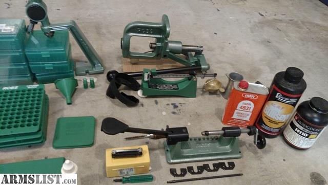Armslist For Sale Trade Rcbs Reloading Setup Components