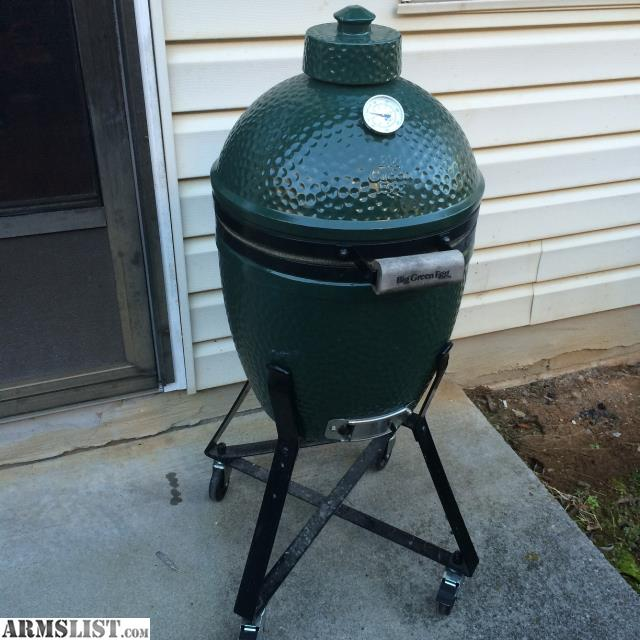ARMSLIST - For Sale: Big Green Egg and Nest - Small