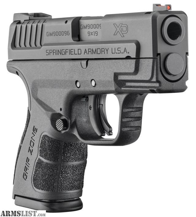 "For Sale: New Springfield XD9 Mod 2 9mm 4"" Bi"