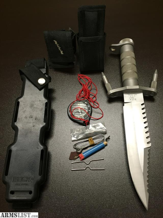 armslist for sale trade buck 184 survival knife