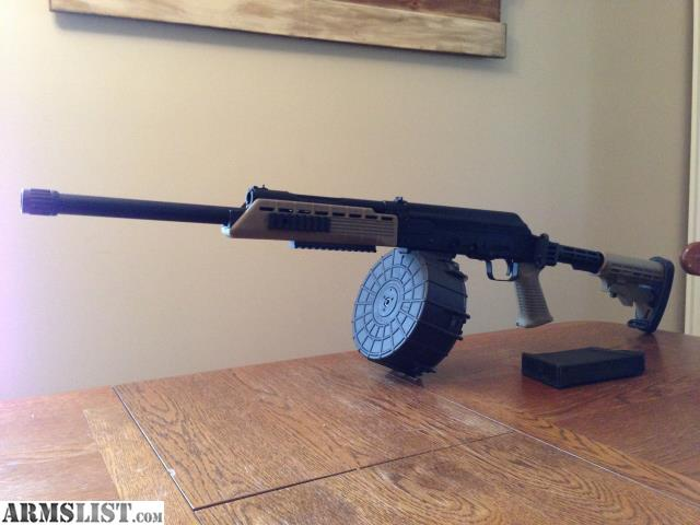 ARMSLIST - For Sale/Trade: Modified Saiga 12 with drum ...