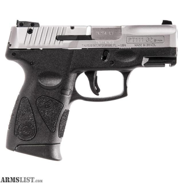 ARMSLIST - For Sale: Taurus PT 111 Millennium Pro G2 9mm Black Poly ...