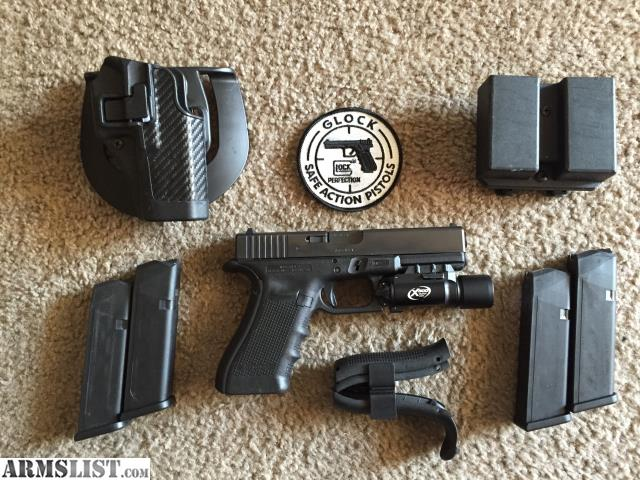 This is a like new Glock 17 only has about 300 rounds theough it. No trades  and local sales only.