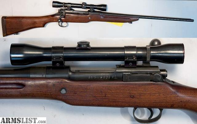 ARMSLIST - For Sale/Trade: M1917 (Remington) Sporterized ...