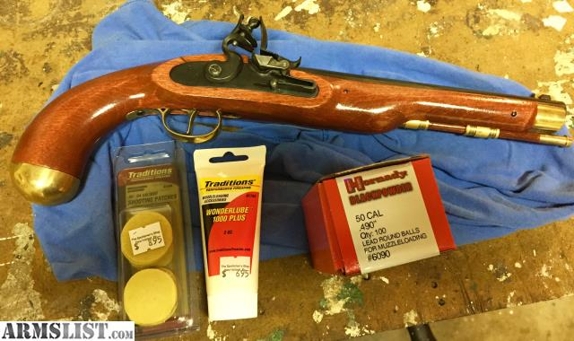 ARMSLIST - For Sale: Traditions Flintlock Pirate Pistol ...