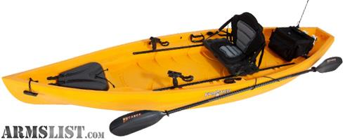 Armslist for trade nucanoe frontier 12 39 fishing kayak for Most stable fishing kayak