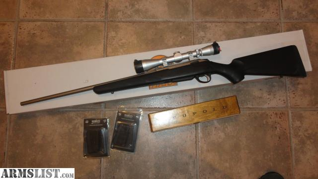 armslist for sale tikka t3 lite stainless 243 with leupold scope. Black Bedroom Furniture Sets. Home Design Ideas