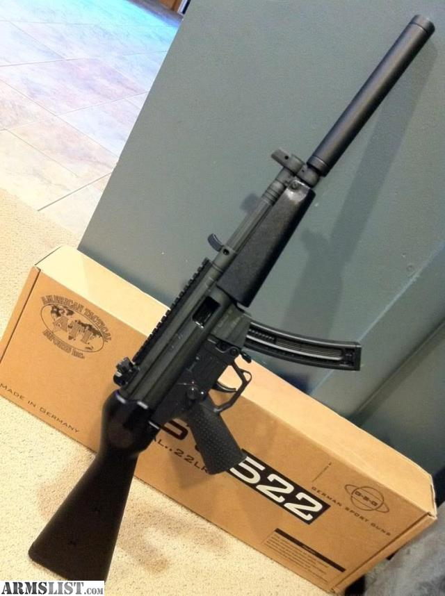 ARMSLIST - For Sale: GSG-522 (Steel Frame), Not Plastic