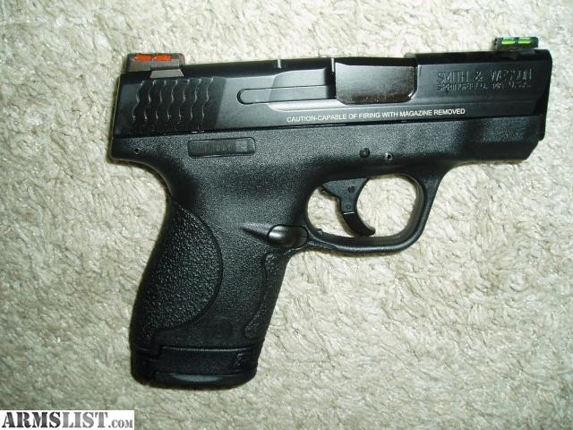 Armslist for sale smith wesson 10108 m p shield pro for M p ported shield 9mm
