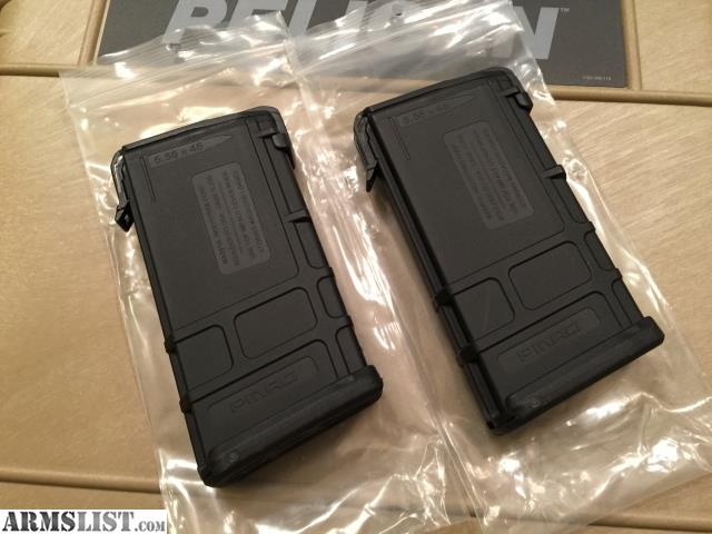 One pair of Magpul Gen 2 PMAG 20-round straight magazines, black polymer.  $50 shipped in CONUS or local pickup in PHX area. If shipping to you, ...