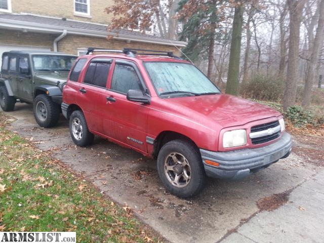 armslist for sale trade 1999 chevy tracker 81k miles. Black Bedroom Furniture Sets. Home Design Ideas