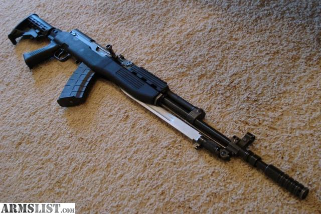 Exceptional Yugo SKS W/ Bayonet And G2 Trigger. Factory Furniture. Tapco Furniture.  Iron Sight Adjustment Tool. Factory Mag 3 X 20 Rnd Tapco Mags 1 X 30 Rnd  Promag