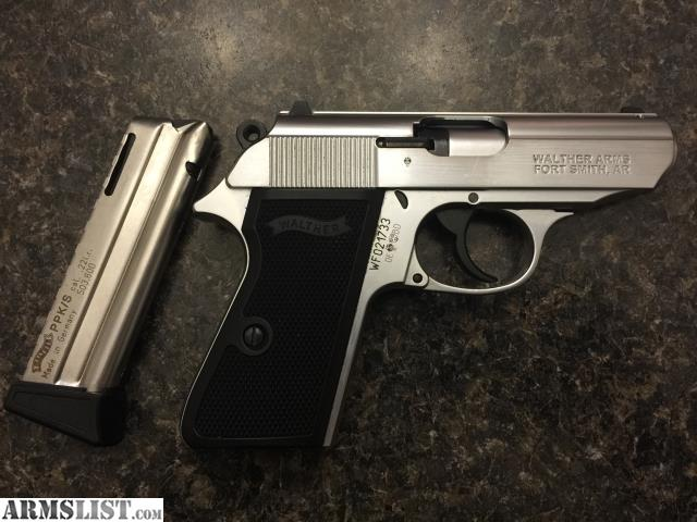 armslist for sale walther ppk s 22 ppk s 22 stainless finish rh armslist com walther ppk/s air pistol manual Walther PPK S Manufacture Date