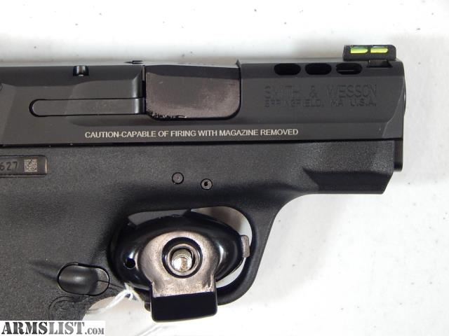 Armslist for sale smith wesson performance center m for M p ported shield 9mm