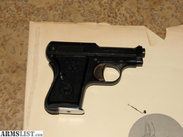 Armslist For Sale Beretta Model 418 25 Acp - Imagez co