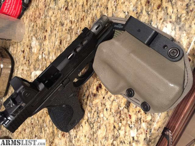 Armslist for sale m p core 9mm ported trijicon for M p ported core 9mm