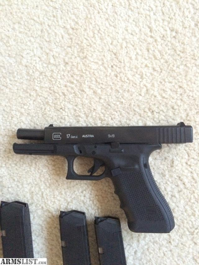 ARMSLIST - For Sale: Glock 17 Gen 4 9mm with Galco OWB Holster