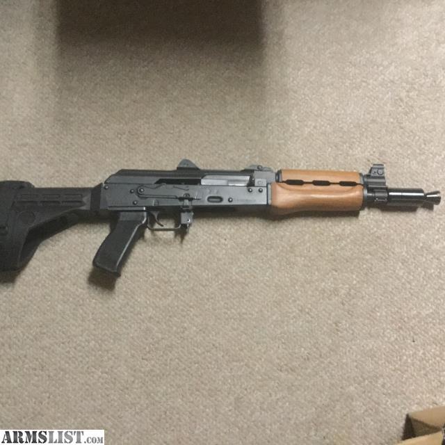 For Sale: Zastava PAP M92 AK47 Pistol W Arm