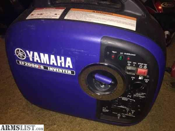 armslist for sale trade yamaha 2000is generator