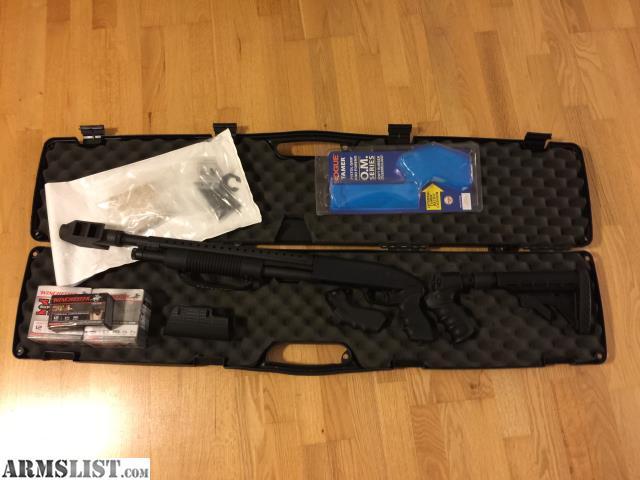 armslist for sale mossberg 500 roadblocker with pistol