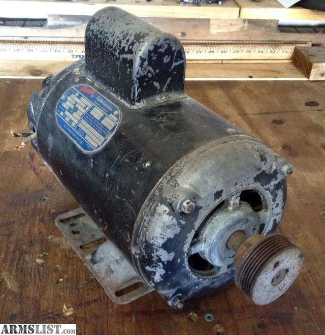 Armslist For Sale Trade Air Compressor Duty Motor 2hp