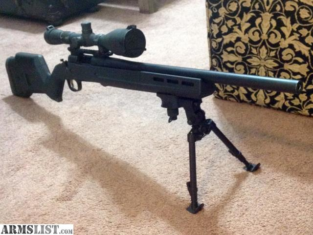 Remington 700 Magpul Stock Bipod Agcrewall