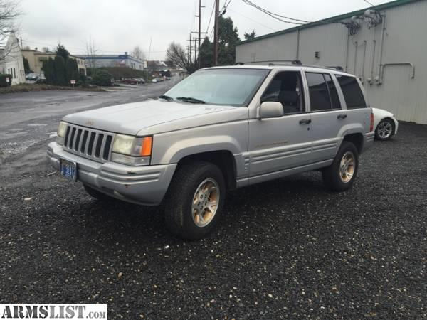 armslist for sale trade 1998 jeep grand cherokee laredo. Black Bedroom Furniture Sets. Home Design Ideas