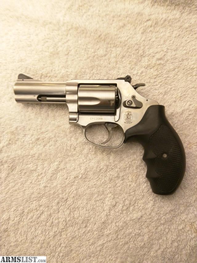 ARMSLIST - For Sale: Smith & Wesson .357 Magnum. 5 shot, nickel ...