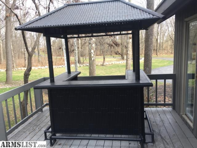 Armslist for sale tiki bar with chairs for Outdoor patio bars for sale