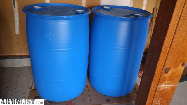 I am selling two 55 gallon water barrels/drums plus two wrenches and two barrel bags/covers. The water storage barrels have only held clean tap water . & ARMSLIST - For Sale/Trade: Two 55 Gallon Water Barrels + Extras ...