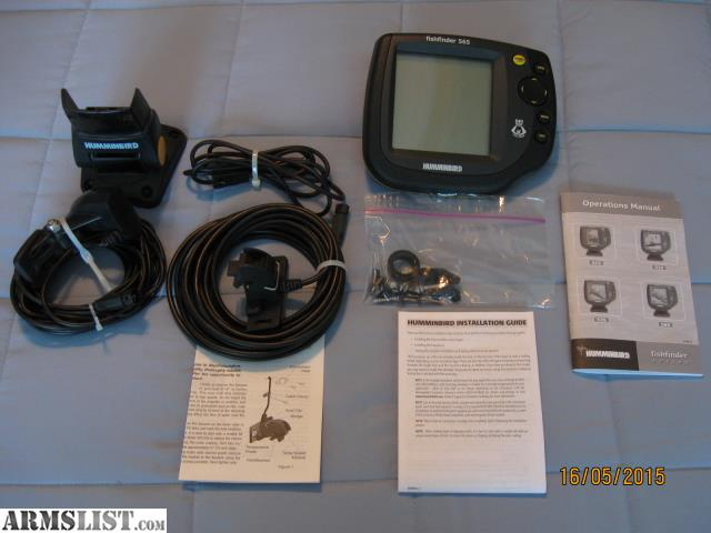 Humminbird 565 fishfinder for sale for Fish finders on sale