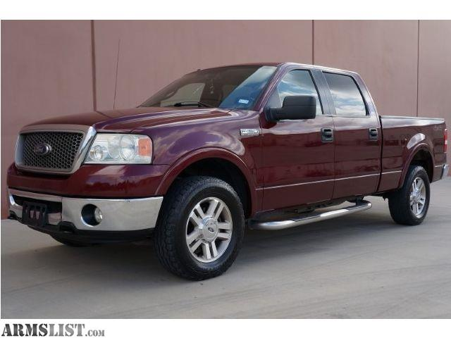 armslist for sale 2006 ford f 150 lariat 4x4. Black Bedroom Furniture Sets. Home Design Ideas