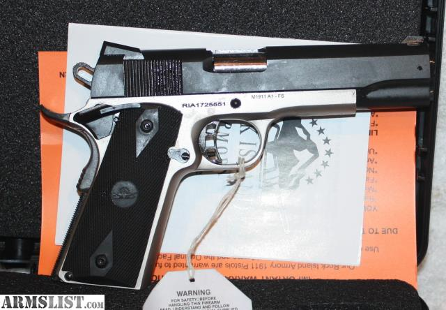 Rock Island Armory  A Tactical  Auto Full Size Pistol