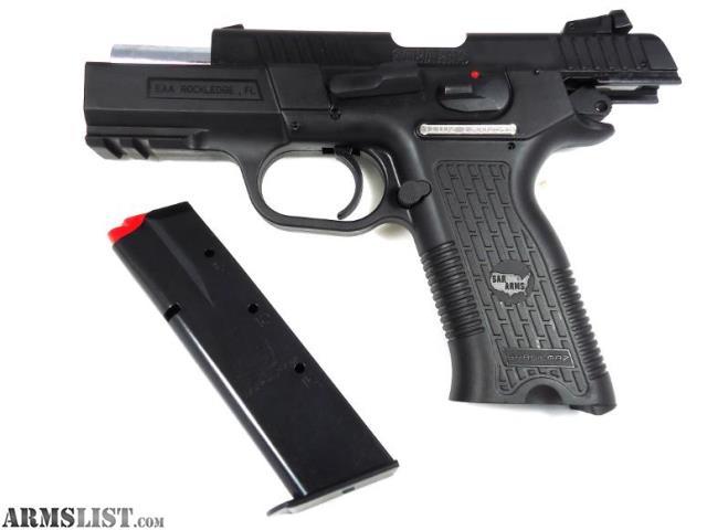"""For Sale: EAA SAR ARMS K2P 9mm 3.8"""" 16+1 Rail DA/SA"""