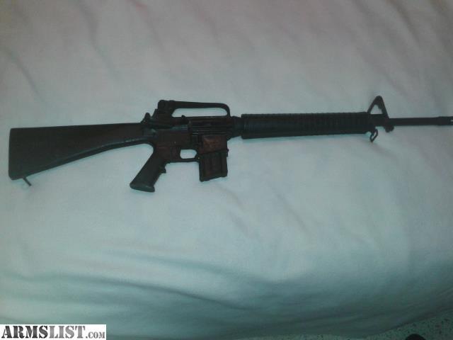 Armslist For Sale M16 A2 Vintage Training Rifle Rubber