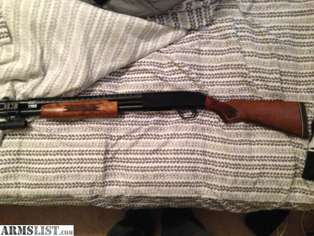 armslist for sale mossberg 500 persuader with wood