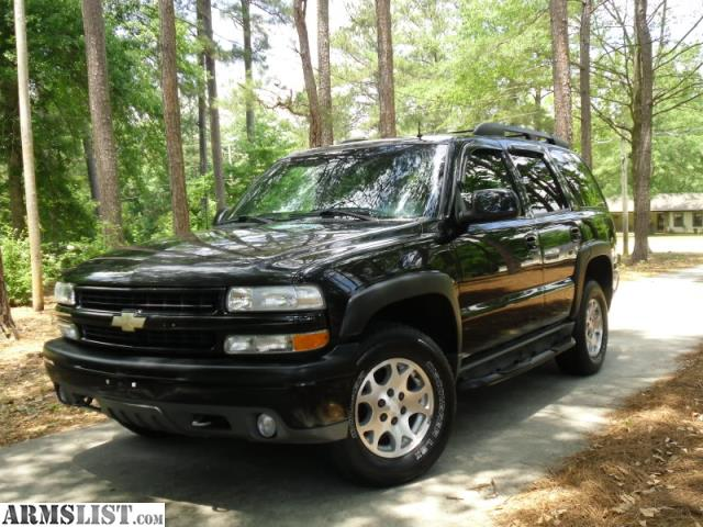 armslist for sale 2002 chevrolet tahoe z71. Black Bedroom Furniture Sets. Home Design Ideas