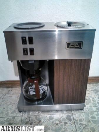 Bunn Coffee Maker No Plastic Parts : ARMSLIST - For Sale/Trade: Bunn Tacticle Coffee Maker