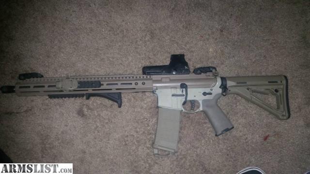 Armslist For Sale Custom Built Ar15 16 Barrel