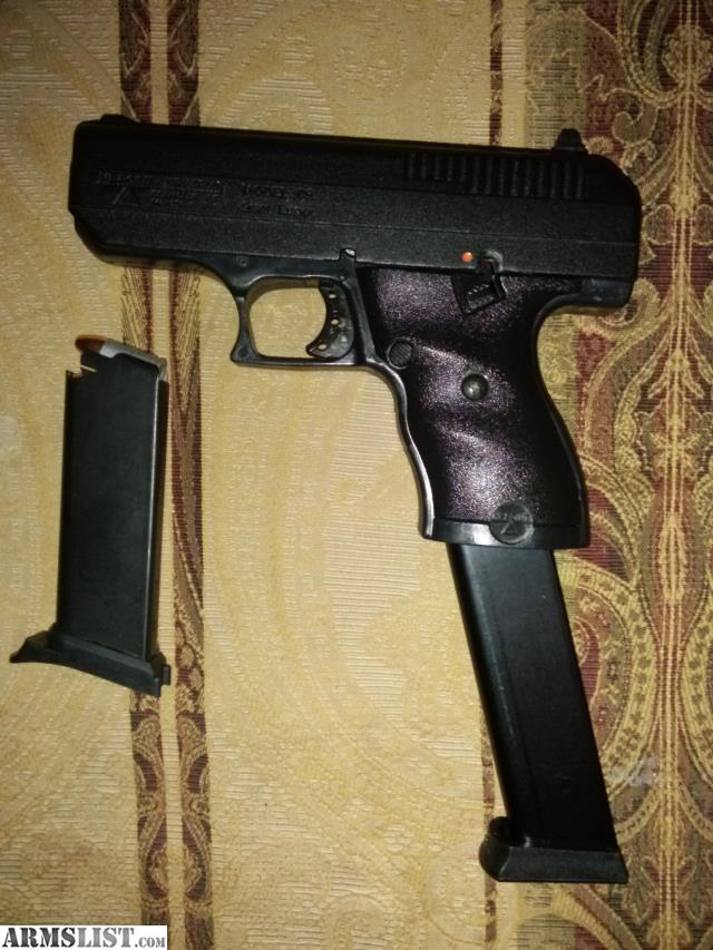 For Sale Trade   Great Deal  Hi-point 9mm with Extended Magazine