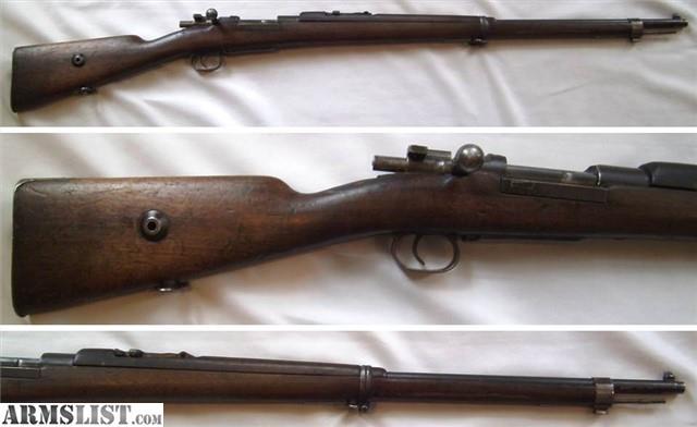 ARMSLIST - For Sale: 1893 Turkish Mauser **Antique Pre-1899