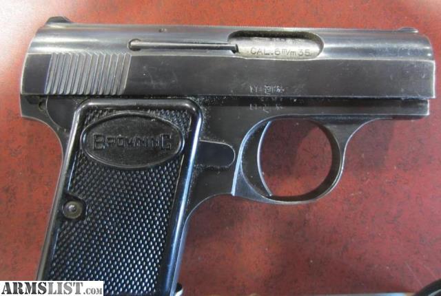 ARMSLIST - For Sale: Browning Pocket Pistol