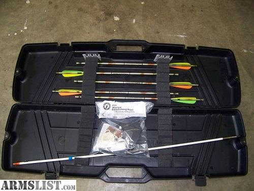 Armslist for sale bowfishing reel crossbow bolts for Crossbow fishing reel