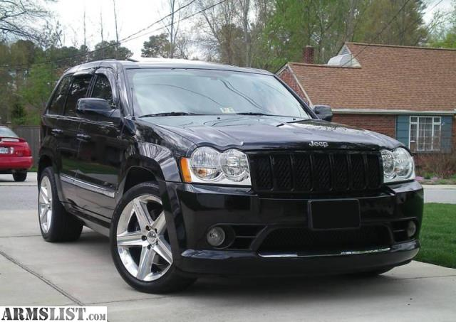 armslist for sale 2007 jeep grand cherokee srt8. Black Bedroom Furniture Sets. Home Design Ideas
