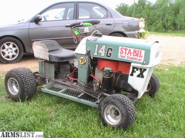 Craftsman Go Kart : Armslist for sale trade racing lawnmower