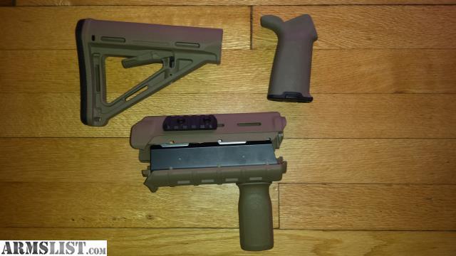 Armslist For Sale Fde Magpul Moe Ar 15 Furniture Set