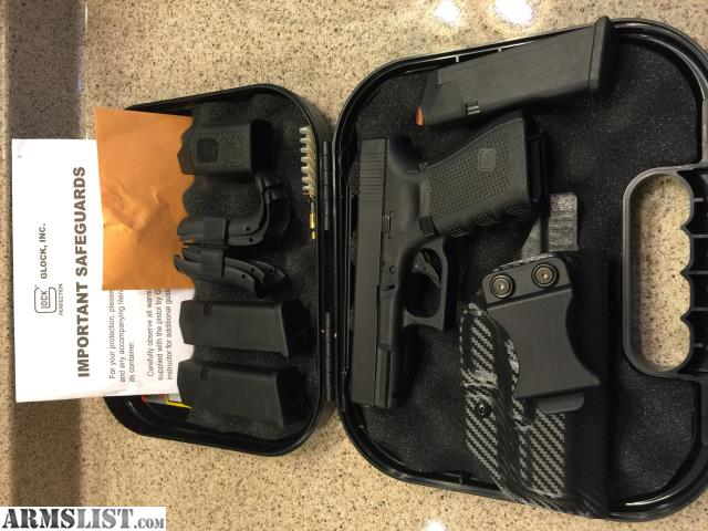 armslist for sale glock 19 gen 4 w holster